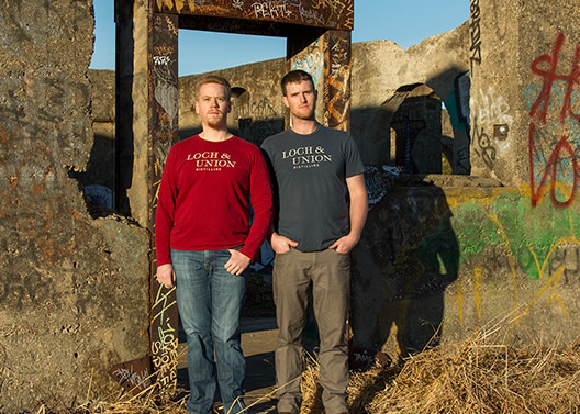 Loch & Union's co-founders Matt Meyer and Colin Baker