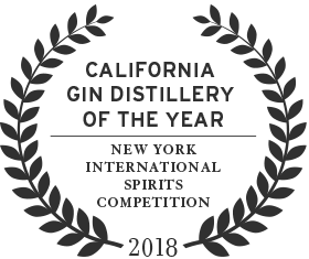 2018 california distillery of the year award from the new york international spirits competition