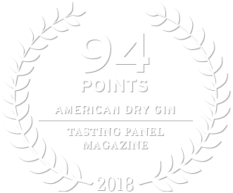94 points from the tasting panel magazine for loch & union dry gin in 2018