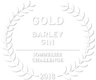 2018 gold award for loch & union barley gin from the sommelier challenge