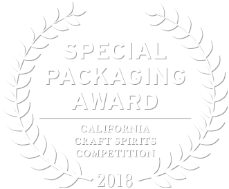 2018 california craft spirits competition special packaging award