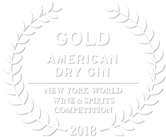 2018 gold award in the new york world wine and spirits competition for loch & union american dry gin